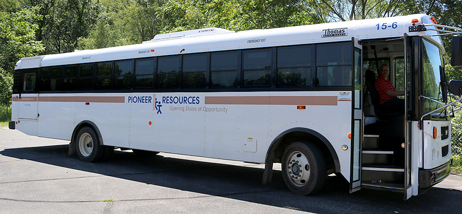 Pioneer Resources Trip Bus