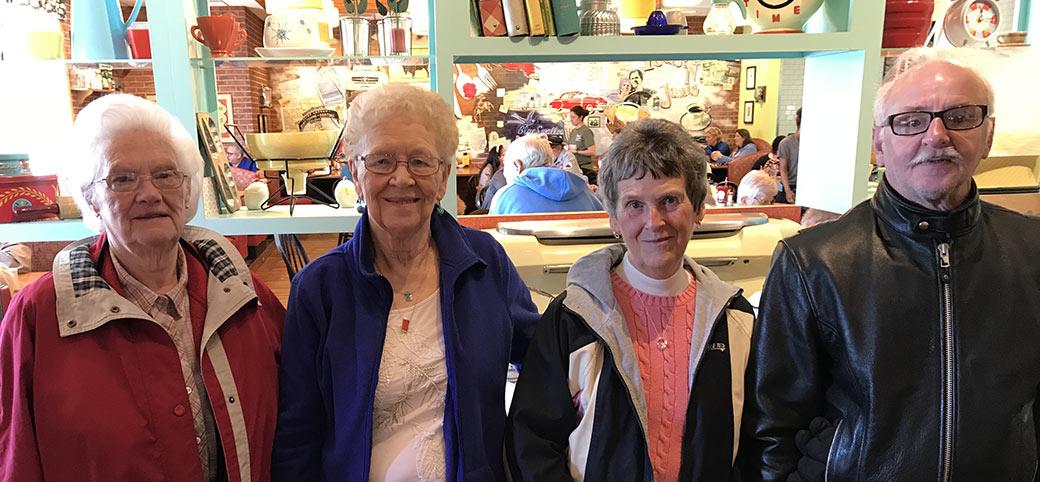 4 Seniors on Trip