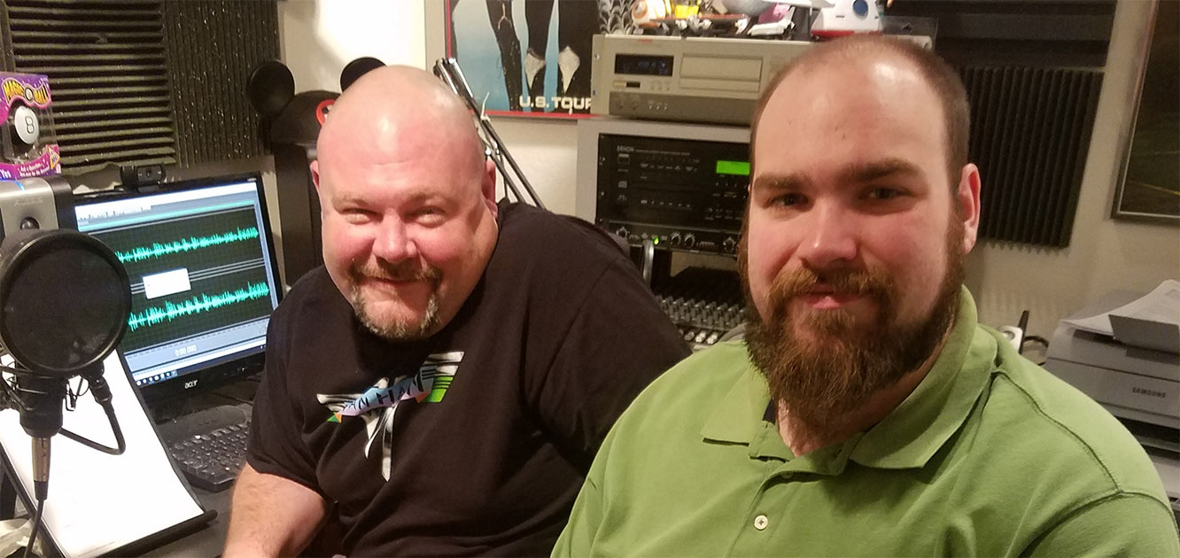 2 Men in Radio Station